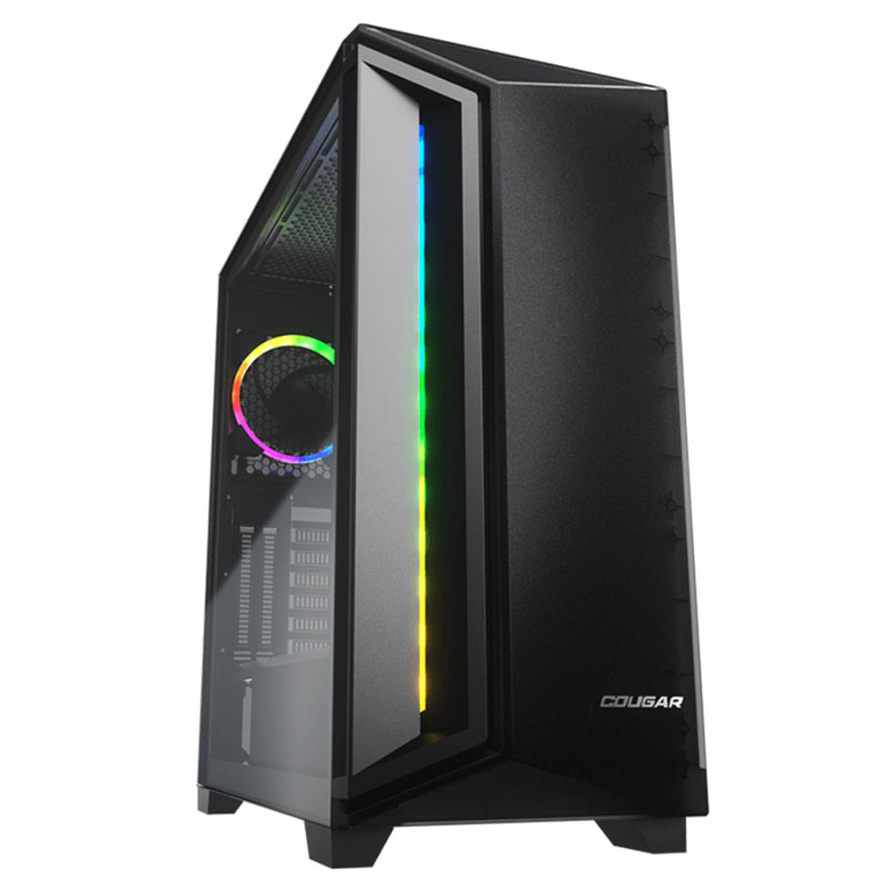 GABINETE COUGAR DARKBLADER X7 RGB ATX SIN FUENTE USB 3.0 NEGRO