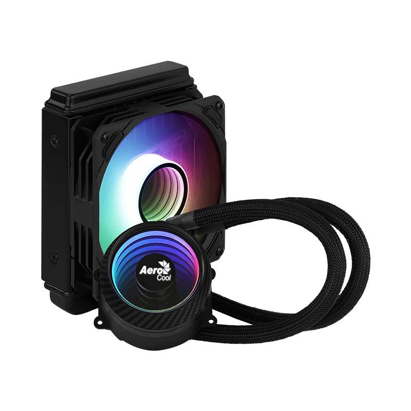 DISIPADOR PARA CPU AEROCOOL MIRAGE L120 ARGB 120MM INTEL Y AMD NEGRO