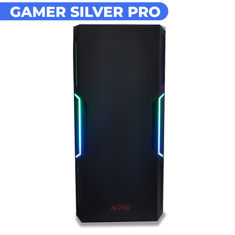 COMPUTADORA GAMER SILVER PRO V1.0 RTX 3060 12GB + AMD RYZEN 5 2600 + RAM 16GB + SSD 960GB