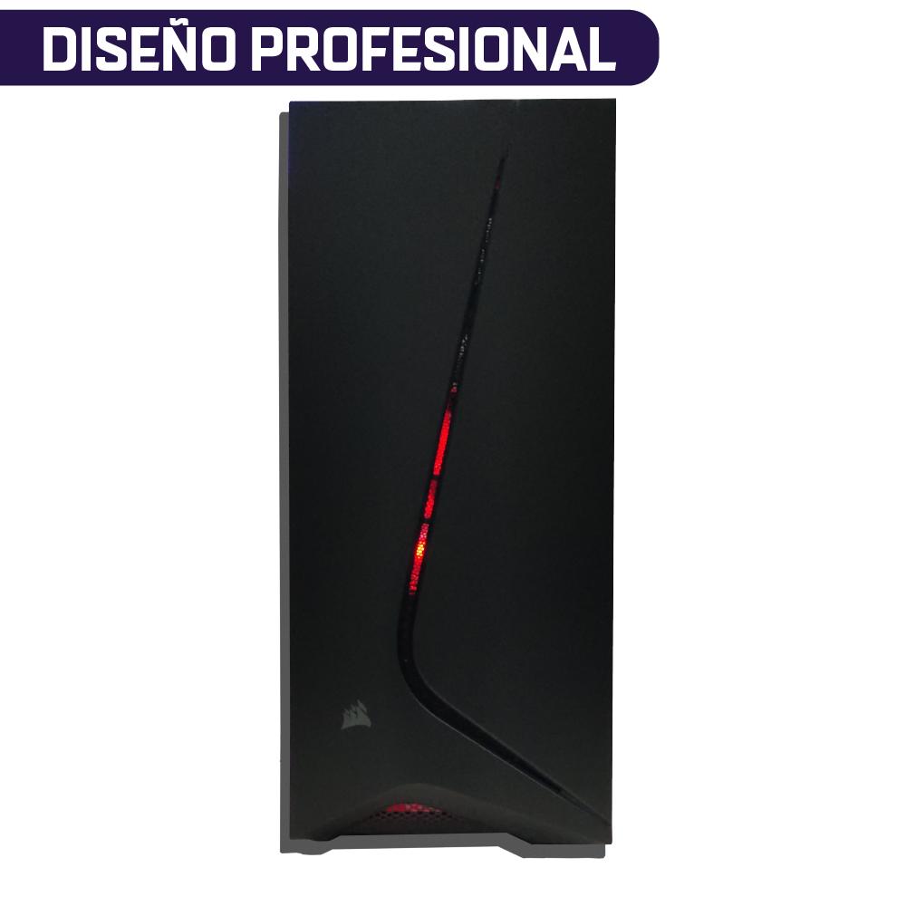 COMPUTADORA PARA DISEÑO PROFESIONAL AMD RYZEN 5 3600 + RAM 32GB + SSD 960GB + QUADRO P400 2GB