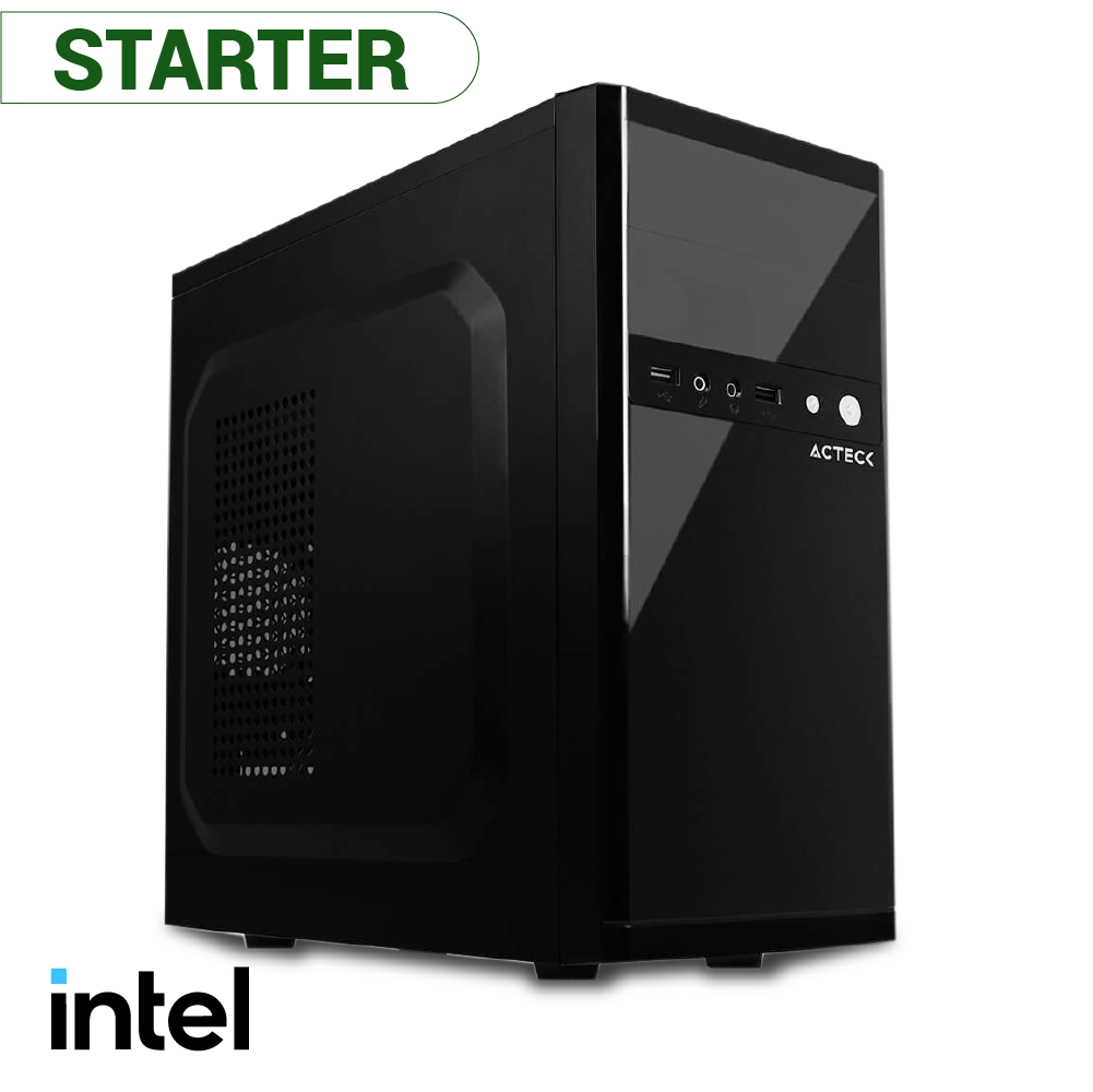 COMPUTADORA PARA HOGAR Y OFICINA STARTER INTEL CELERON G5905 + RAM 4GB + SSD 120GB